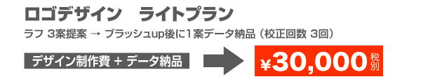 ロゴデザインライトプラン